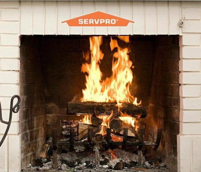 Fireplace safety warning