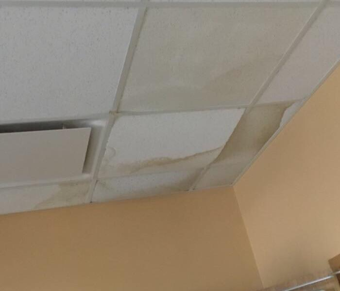 Local Church Experiences Roof Leak