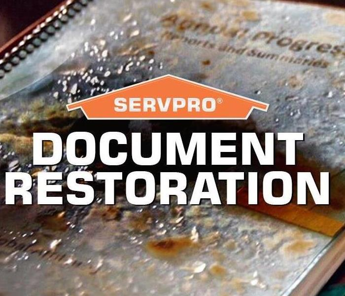 SERVPRO Document Restoration