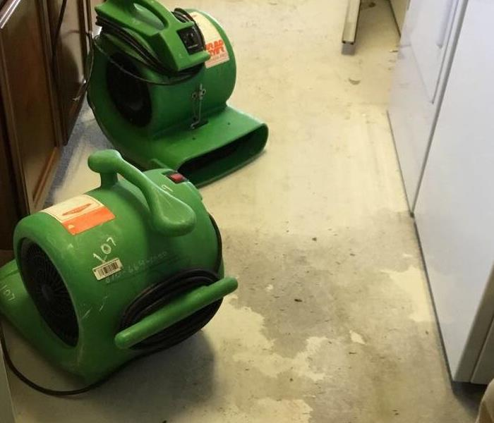 Water Damage Washing Machine Floods House
